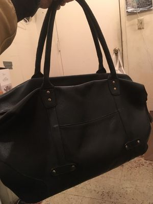 Black leather bag for Sale in Portland, OR