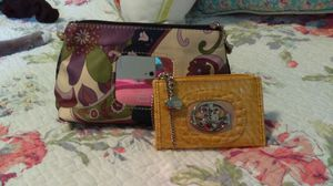 Kathy Van Zealand makeup bag and change purse for Sale in Erie, PA