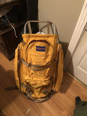 Yellow jansport vintage hikers backpack for Sale in Fort Worth, TX