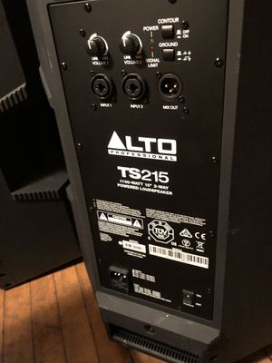 Alto Professional TS215 Personal PA Speakers. for Sale in Portland, ME