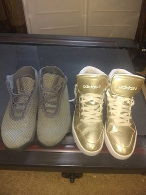 Adidas and Jordans sneakers for Sale in GA, US