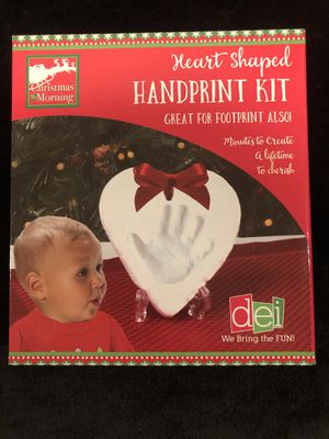 Heart Handprint Kit for Sale in Raleigh, NC