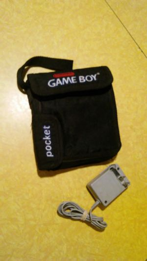 gameboy case and charger nintendo for Sale in Merced, CA