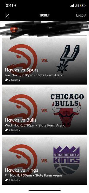 Hawks tickets for Sale in Atlanta, GA