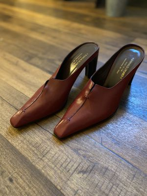 Red Italian Mules by Donald J. Pliner for Sale in Chattanooga, TN