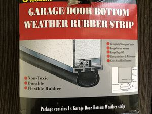 GARAGE DOOR WEATHER RUBBER WEATHER STRIP for Sale in Oceanside, CA