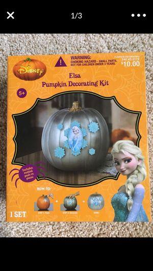 New pumpkin decoration kid Elsa frozen for Sale in Redmond, WA