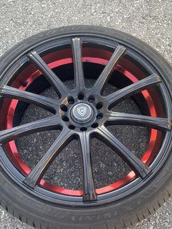 255/35Z/20 Rim N Tire 1 $100 for Sale in Diamond Bar,  CA