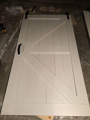 Handmade Sliding Barn Door for Sale in San Diego, CA