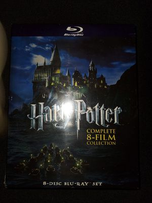 *NEW* Harry Potter Bluray Collection (8 Films) for Sale in Spring, TX