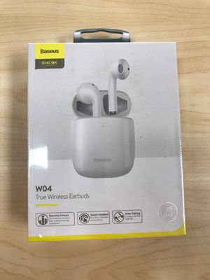 Base us W04 True Wireless Earbuds for Sale in Sacramento, CA