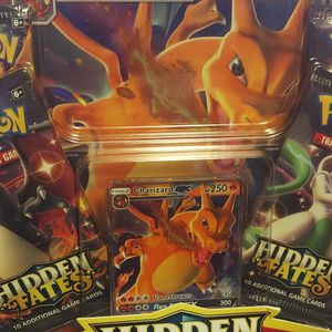 Pokemon Charizard GX HIDDEN FATES COLLECTION BOX for Sale in Commerce Charter Township, MI