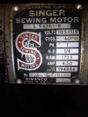 Industrial Singer Sewing Machine for Sale in Austin, TX