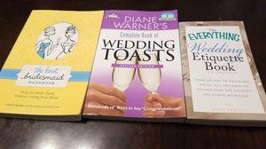 The knot bridesmaid handbook, wedding toast, & everything wedding etiquette book. for Sale in Anaheim, CA