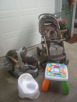 Graco stroller,car seat,potty,& toy. for Sale in Bonney Lake, WA