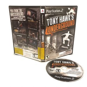 TONY HAWKS UNDERGROUND PS2 for Sale in Glassboro, NJ