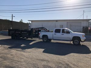 2008 duramax and 2020 pj dump trailer for Sale in Canyon Lake, CA