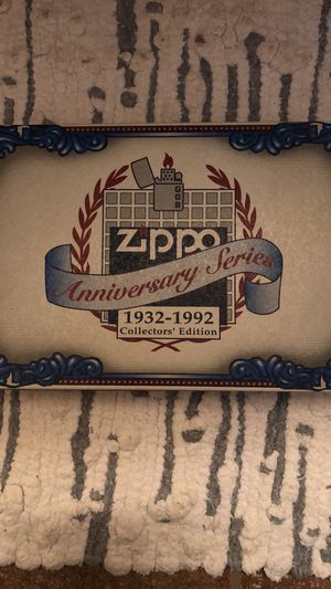 Zippo Anniversary Series 1932-1992 Collectors Edition. for Sale in Akron, OH
