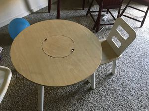 Kids table and chair for Sale in Hillsboro, OR