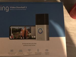 Ring video doorbell 3 for Sale in Swansea, IL