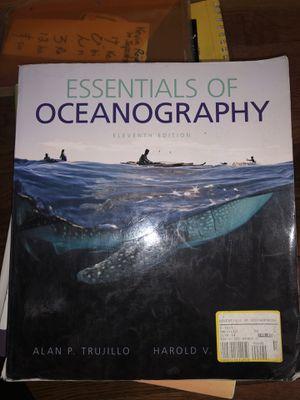 Essentials of oceanography for Sale in Hillsboro, OR
