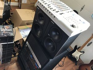 Recording equipments plus highland monitors for Sale in San Mateo, CA