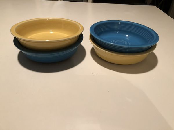 4 Fiestaware Medium Bowls