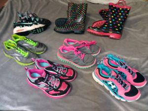 Girls sneakers/shoes/boots lot for Sale in Federal Way, WA