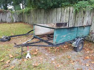 Utility trailer with all lights working for Sale in Tampa, FL