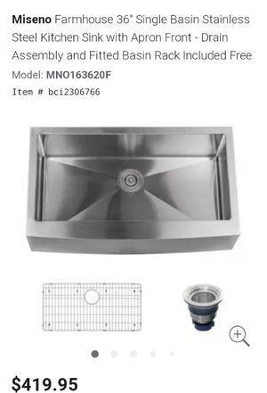 """Kitchen sink 36"""" for Sale in Indianapolis, IN"""