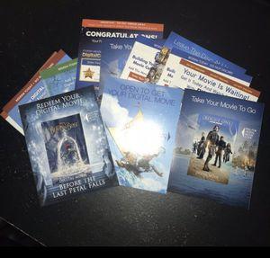 Over 30 Disney digital codes! for Sale in Grundy, VA
