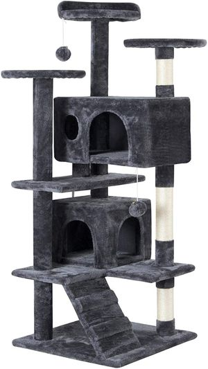 51in Cat Tree Condo Scratch Post Tower for Kittens for Sale in Arlington, TX