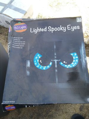 Halloween Lighted Spooky eyes for Sale in Industry, CA