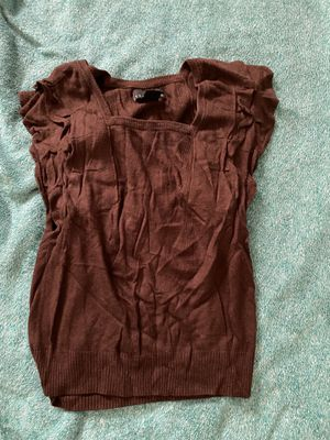 Attention Brown Sweater Vest - Women's Small for Sale in Ithaca, NY