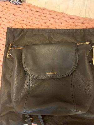 Vera Bradley black leather backpack for Sale in Davidsonville, MD