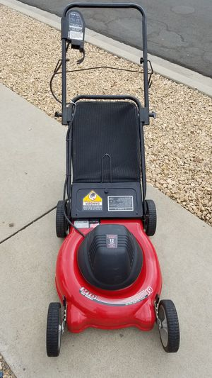 Yard Machine Elecrric lawn mower works great Great condition for Sale in San Diego, CA