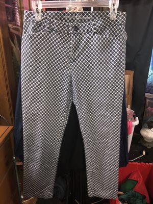 Khaki's by Gap Slim City Blue and White Dress Pants for Sale in Prairieville, LA