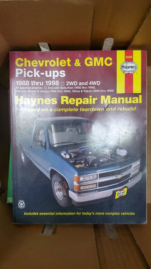 Chevy and GMC Repair Manual for Sale in Puyallup, WA