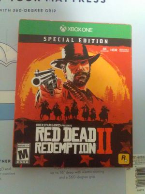 NEW SPECIAL EDITION RED DEAD REDEMPTION for Sale in Seattle, WA
