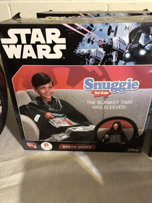 New Star Wars Snuggie kids Darth Vader for Sale in Huntersville, NC
