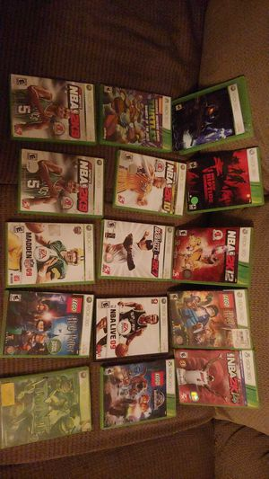 Xbox 360 games for Sale in Brush Prairie, WA