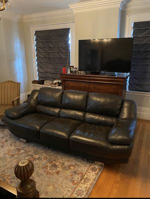 Leather Couch Set- LIKE NEW! for Sale in The Bronx, NY