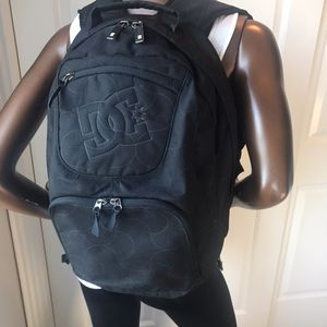 DC Black Padded Laptop Backpack for Sale in Beaverton, OR