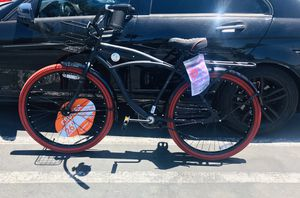 "26"" Men's Cruiser Bike, Matte Black for Sale in Stanton, CA"