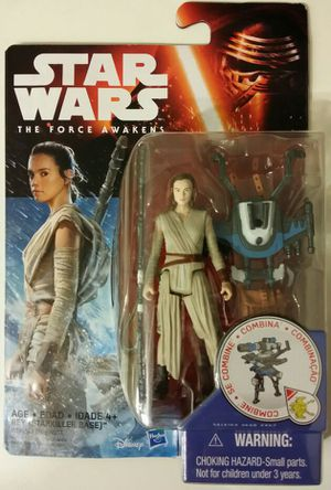 Star Wars: The Force Awakens - Rey action figure, rare find. for Sale in Quincy, MA