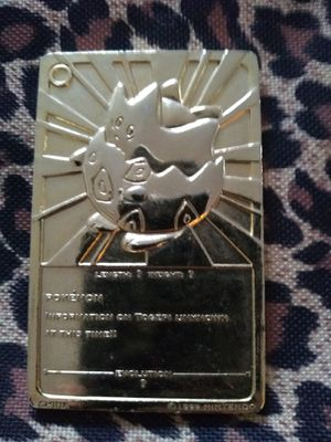 1999 TOGEPI gold plated collectable for Sale in Vancouver, WA
