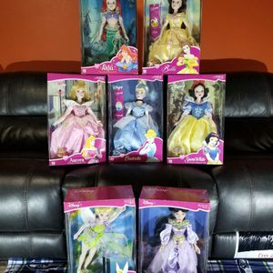 Disney Porcelain Princess Dolls for Sale in Auburn, WA
