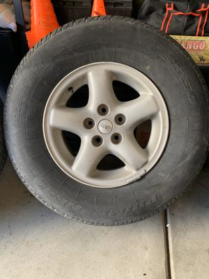 Jeep wheels and tires for Sale in Chula Vista, CA