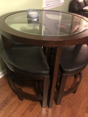 High top bar glass table for Sale in Memphis, TN