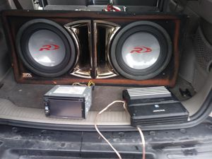 Alpine stereo system for Sale in Rantoul, IL